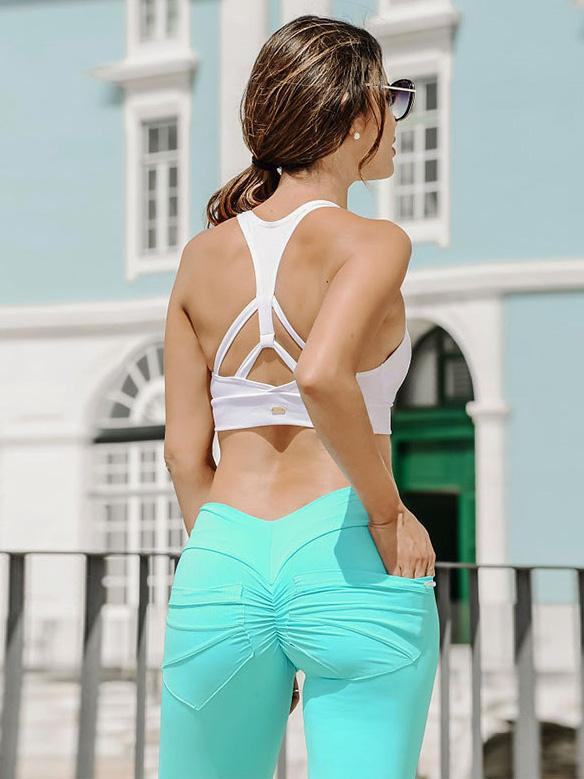 Solid Pocket Yoga Leggings