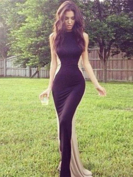Elegant Bodycon Evening Dress