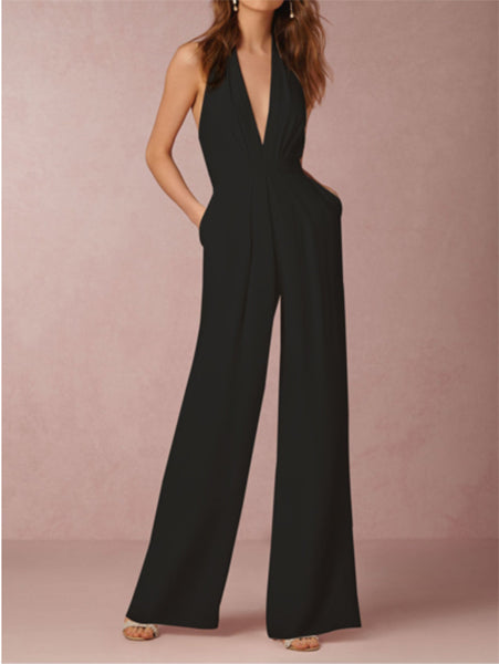 Fashion Elegant Sleeveless Jumpsuit