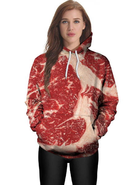 3D Digital Print Sweater