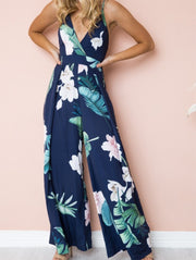 Loose Printed Jumpsuit