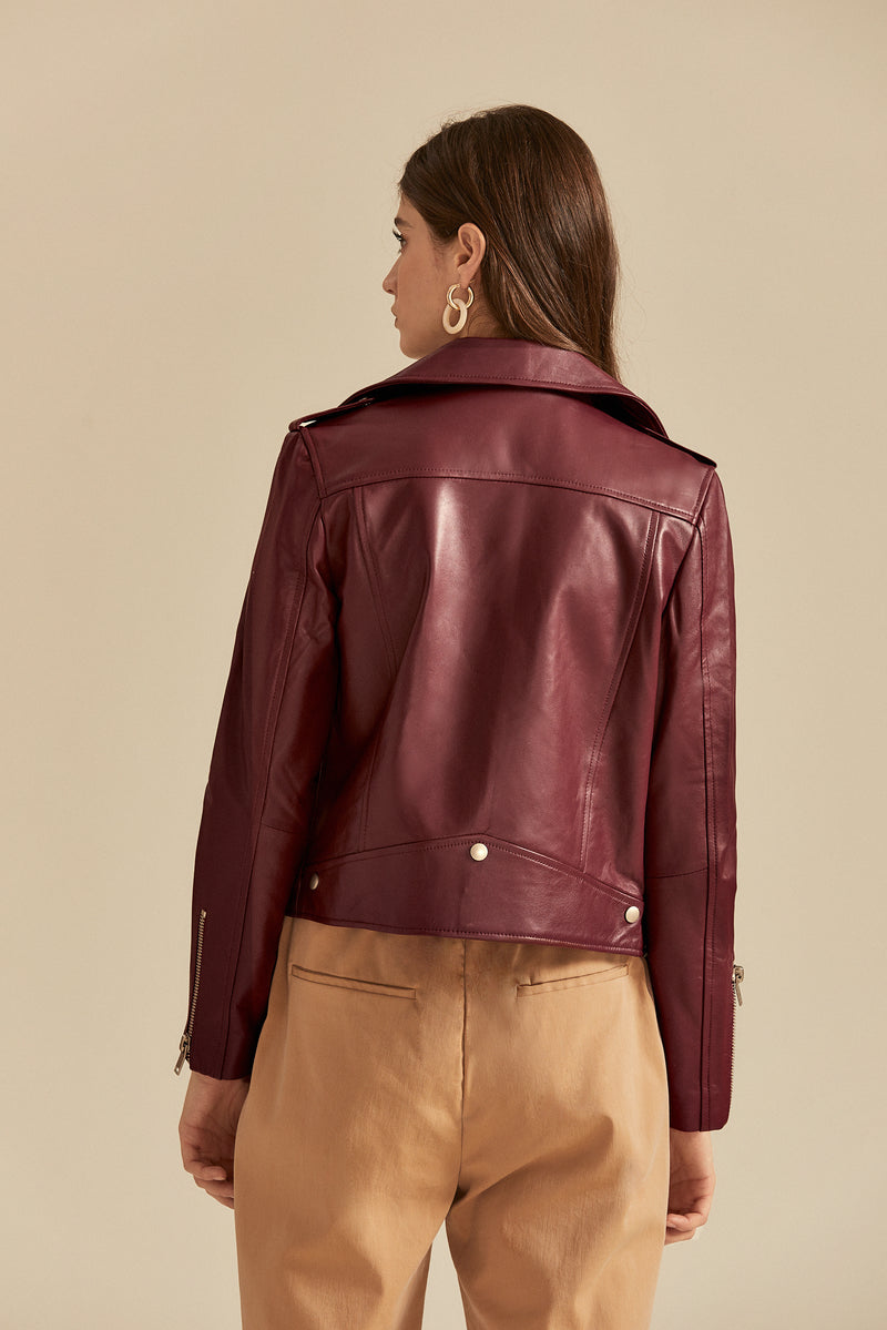 Aretha Leather Jacket