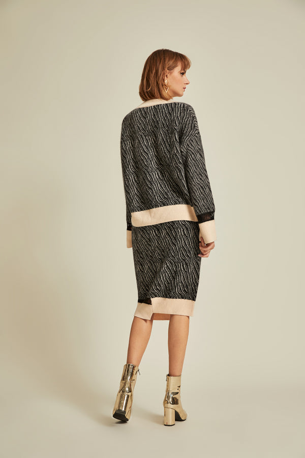 Lores Sweater & Skirt Set