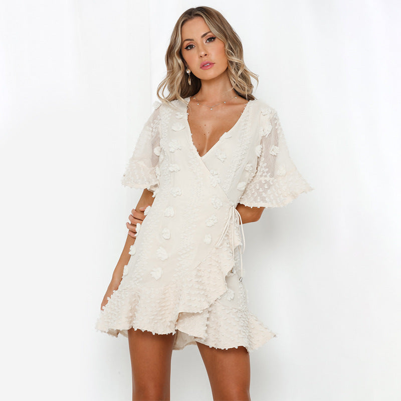 Misha V Neck Dress