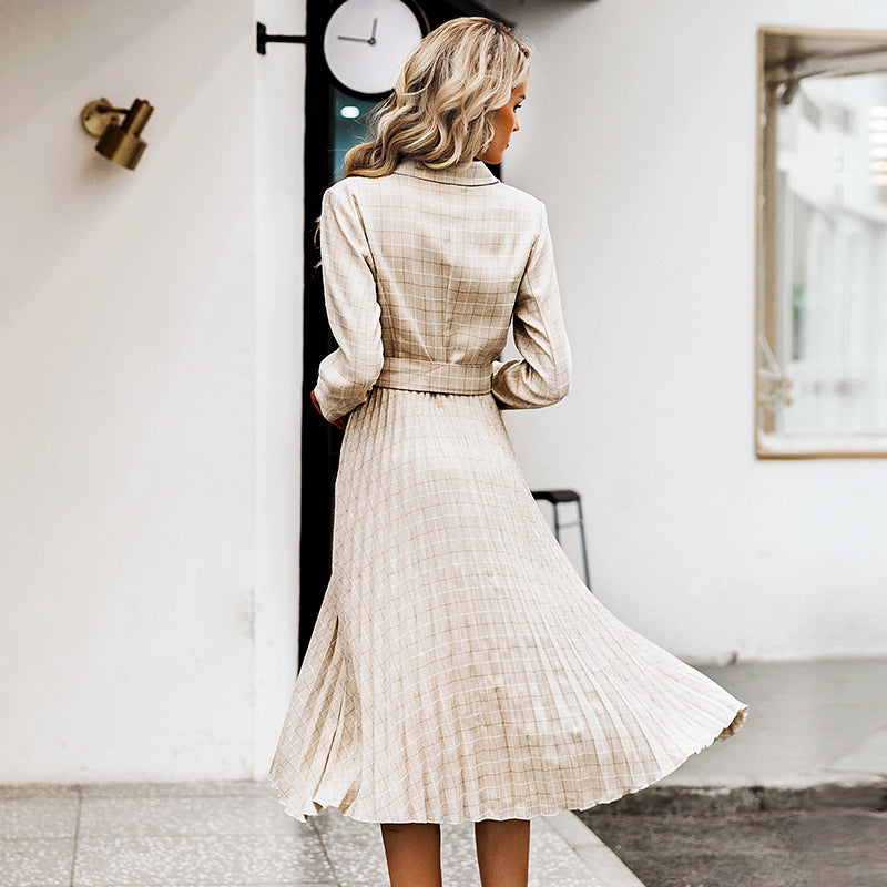 Trieste Pleated Dress