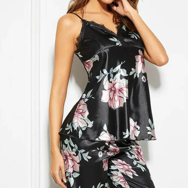 Floral Two Piece Pyjamas