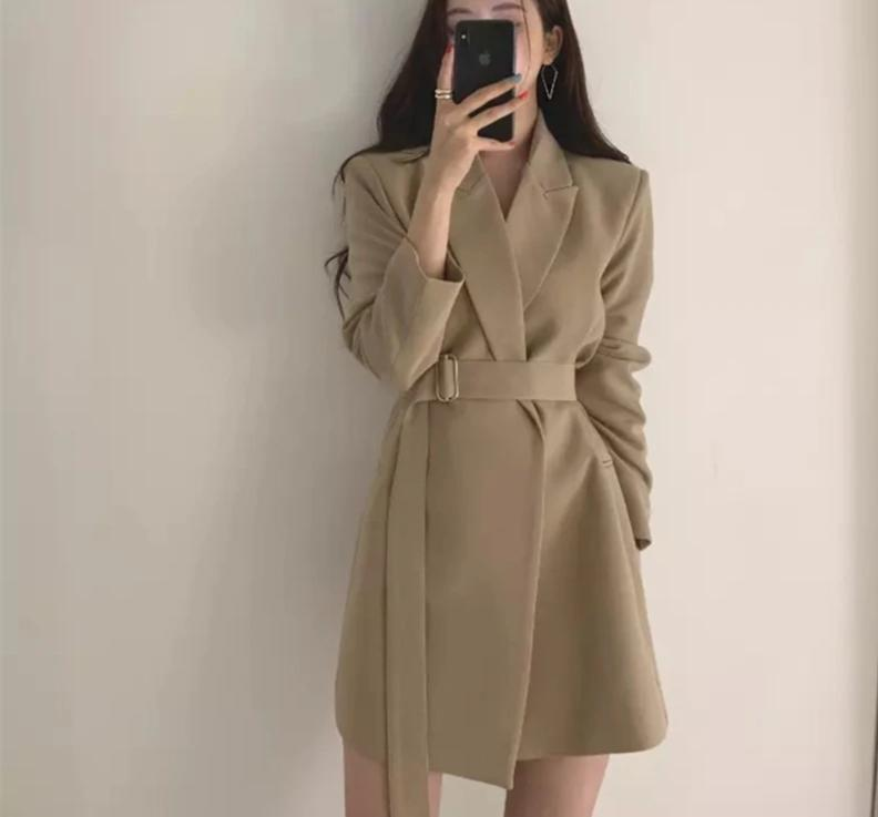 Luna Trench Coat Dress