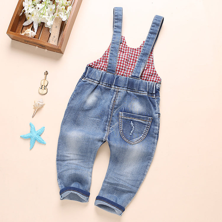 Boys/Girls Denim Overalls