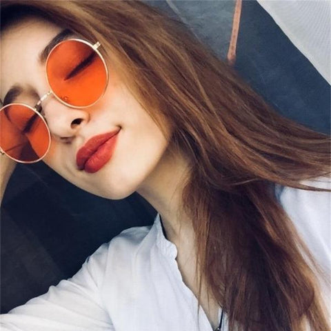 Women's Flat Top Fashion Sunglasses