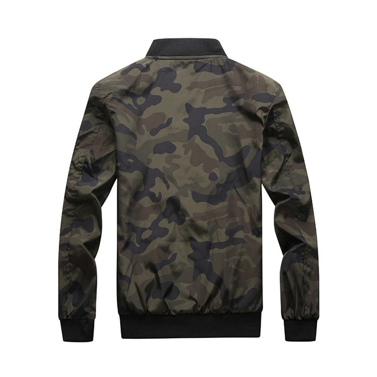 Men's Camo Bomber Jacket