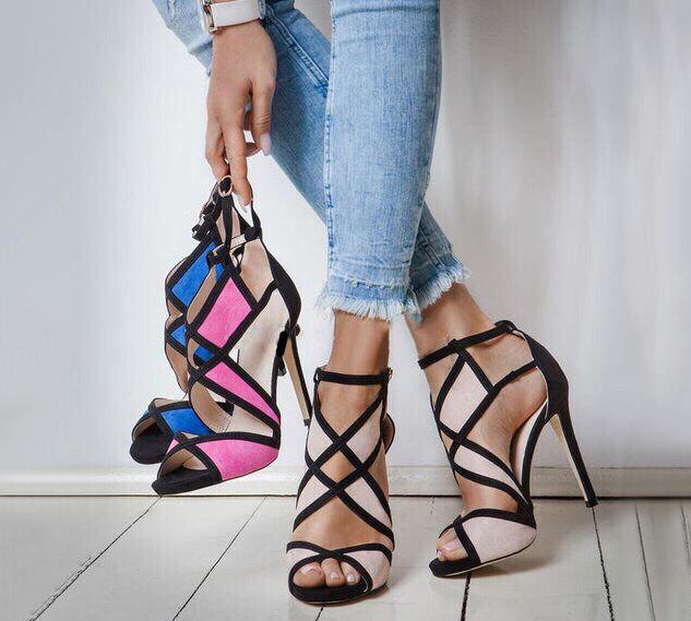 Jester Strappy Heel