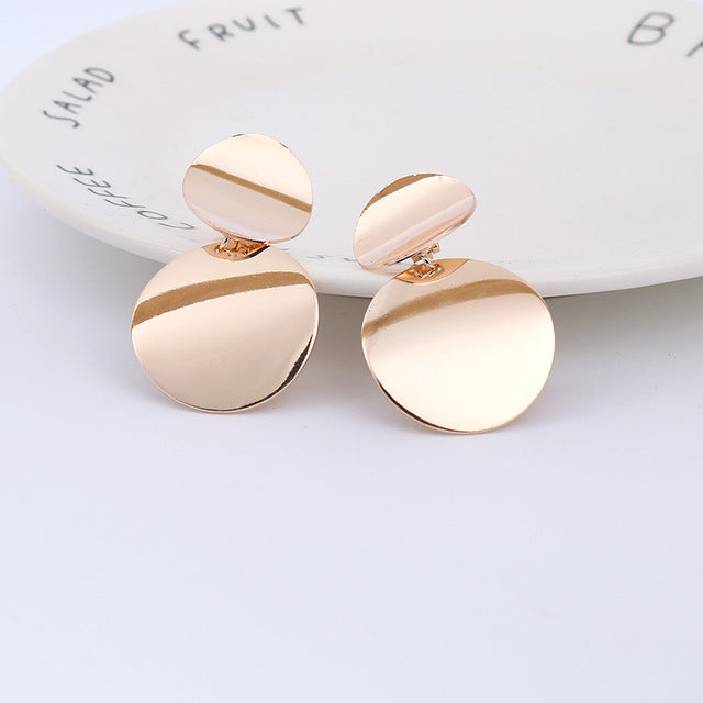 Lucy Disc Earrings