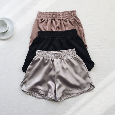 Serena Satin Shorts