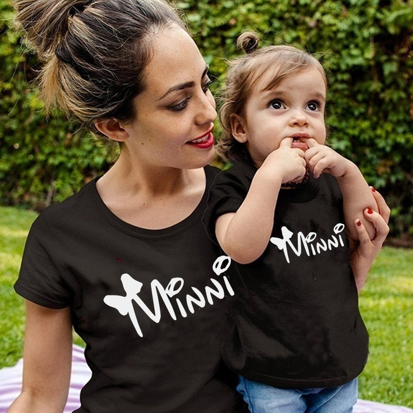 Mother and Child Matching Tee