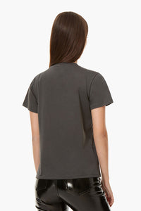 VINYL GIRLS T-SHIRT DARK GREY