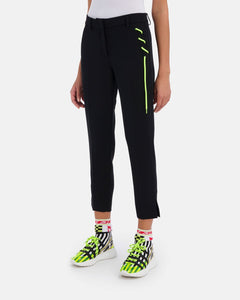 Capri pants with lacing