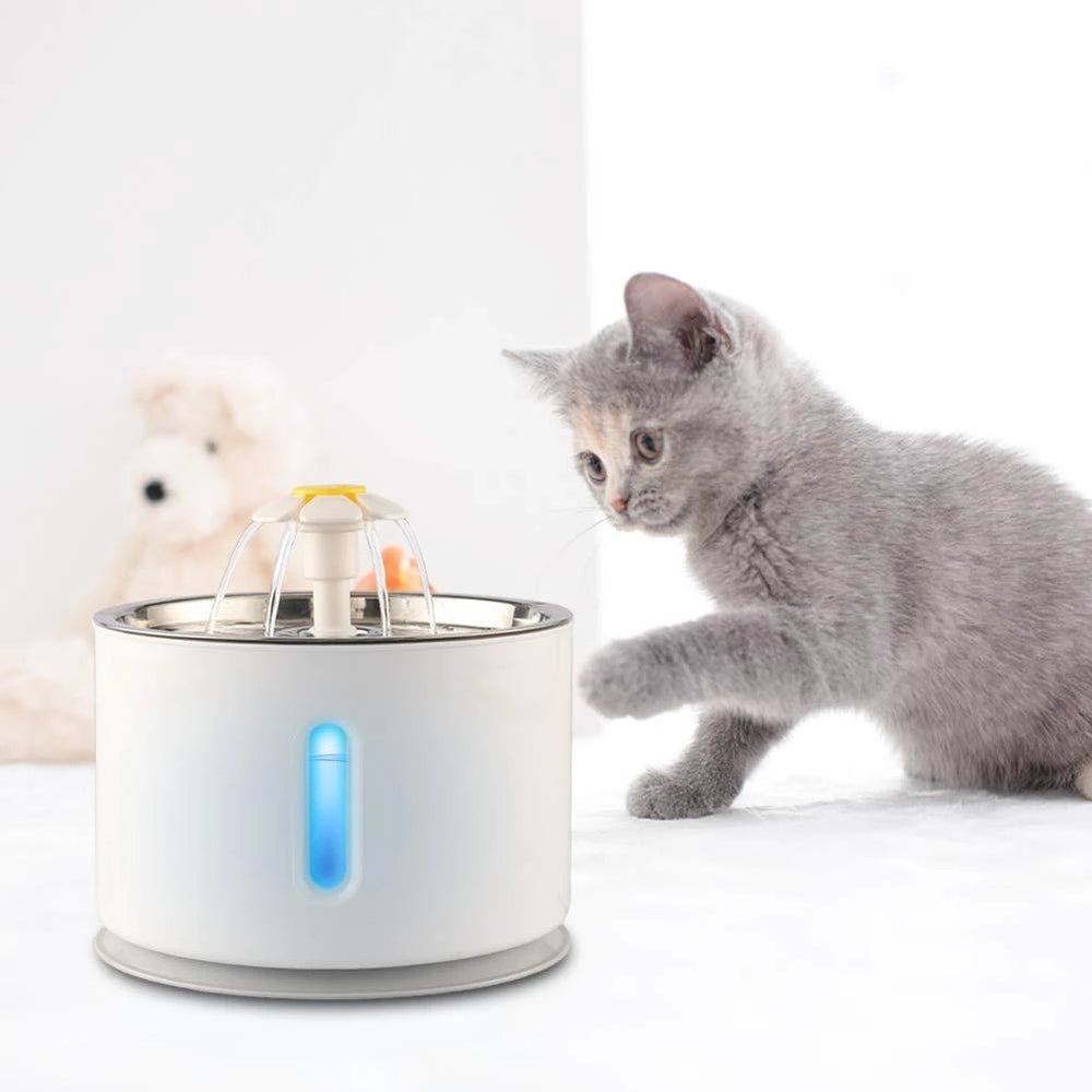 LED Cat Water Fountain