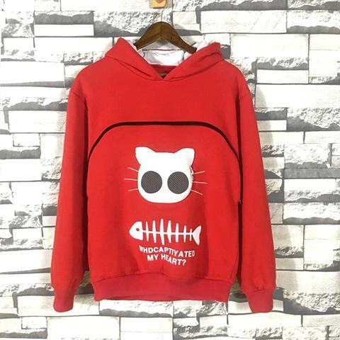 【Hot selling 500 items】Sweatshirt Animal Pouch Hood Tops