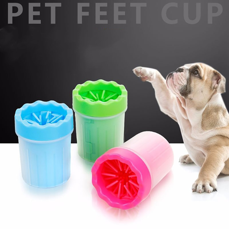 Pet Supplie Dog Paw Washer Cup Portable
