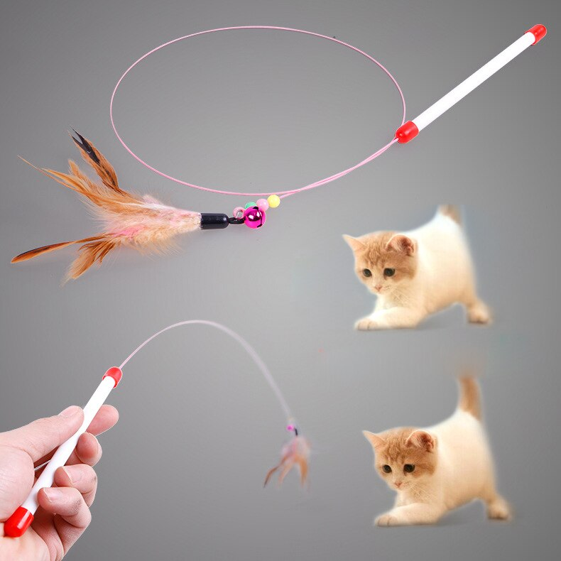 (Get 3pc for ONLY $9.9) Feather Bell Cat Toy