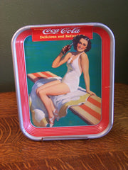 "1939 Coca-Cola ""Bathing Beauty"" Serving Tray"