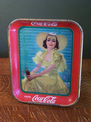 "1938 Coca-Cola ""Afternoon Dress"" Serving Tray"