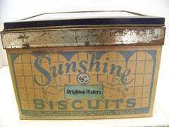 Vintage Sunshine Cracker Box