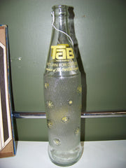 """Tab"" Coca Cola Soda Bottle"
