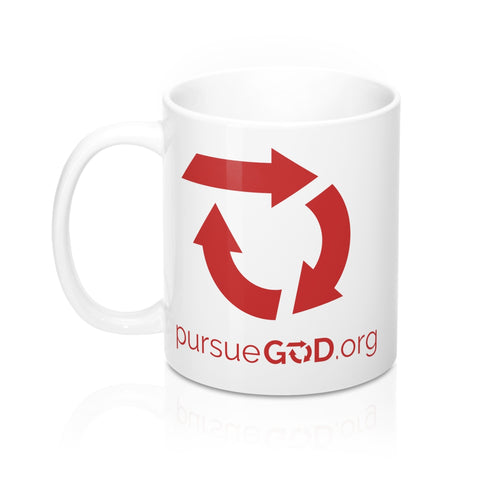 Red Circle Logo Mug 11oz