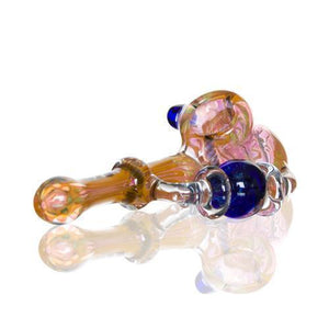 Hand Pipe Made in Glass Type Bubbler Recycler-Insponaire