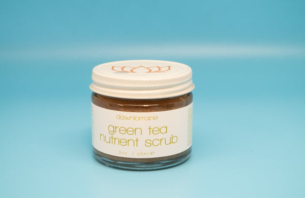 Green Tea Nutrient Scrub, Dawn Lorraine, Wholistic beauty