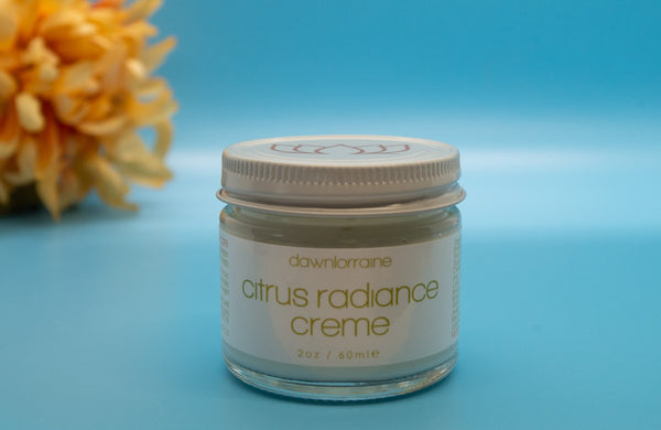 citrus radiance creme dawn lorraine, wholsitic beauty