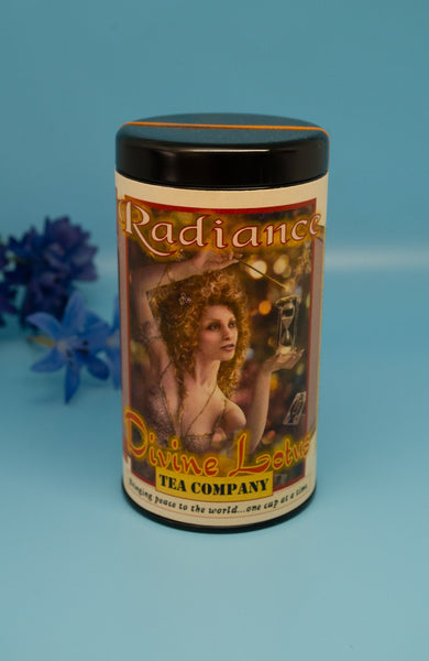 radiance tea for radian skin handcrafted herbal tea