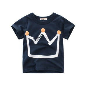 'Crowned Kingz' Navy Tee