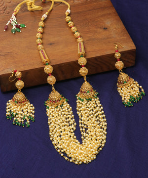 Antique Multi Layer Pearl Set