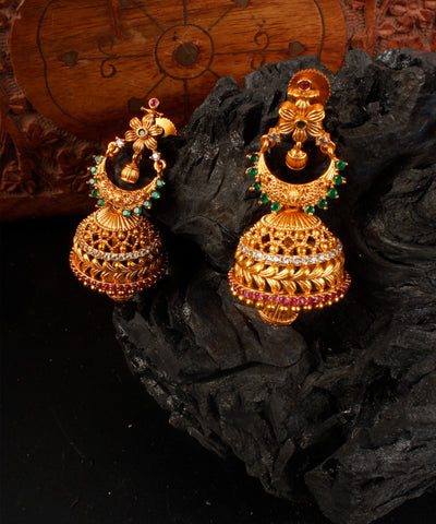 Traditional Matte Jhumka