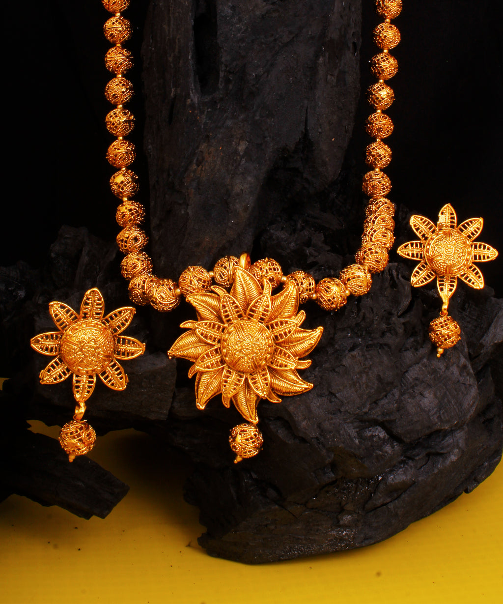 Golden Sunflower Chain