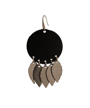 Black Dangle Leaves