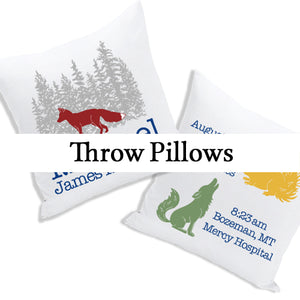 Baby / Kids Pillows, birth stat