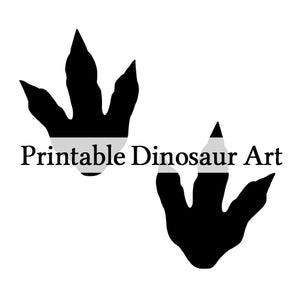 Printable dinosaur art