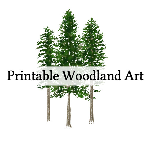 Printable Woodland Wall Art