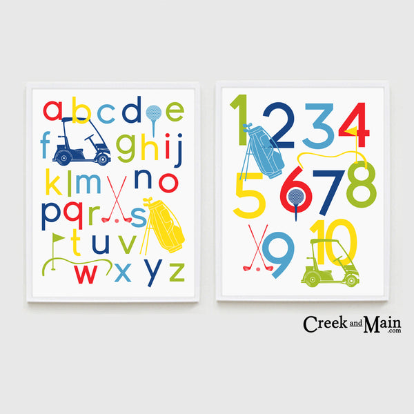 Golf baby nursery decor