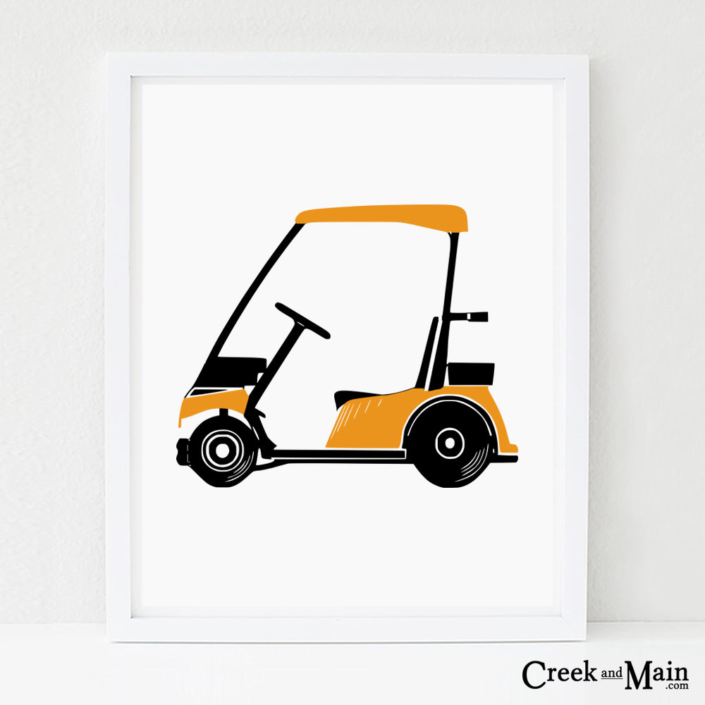 Golf Wall Art