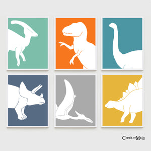 Kids Dinosaur Wall Art