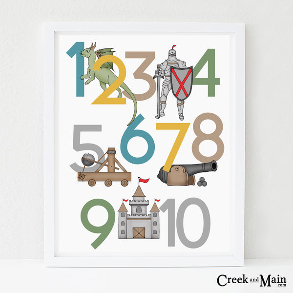 Fairy Tale kids nursery wall art
