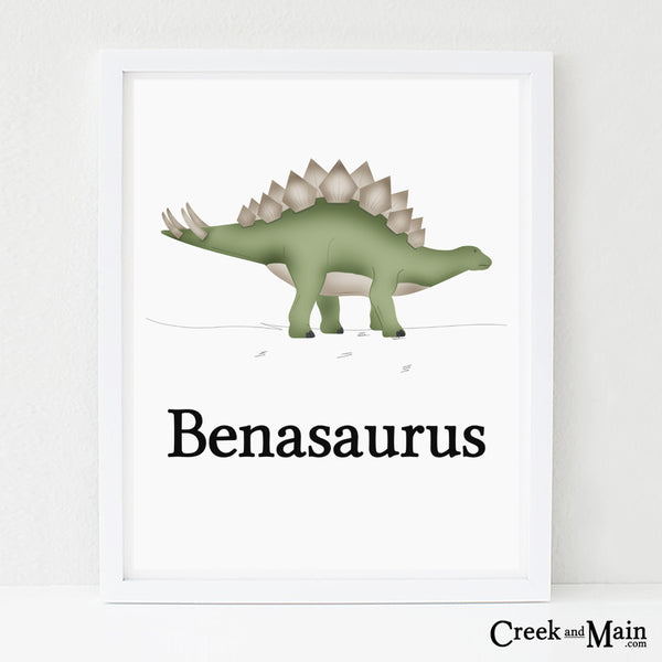 personalized dinosaur wall art, Dinosaur nursery