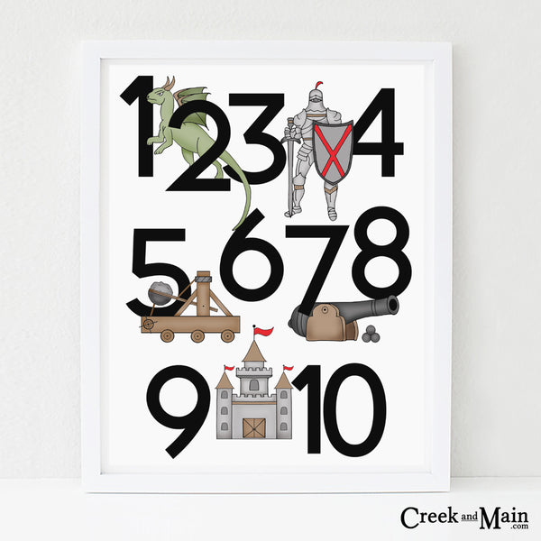 Printable Fairy Tale Nursery Art