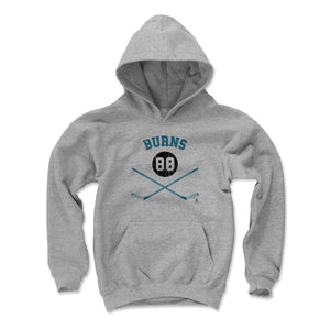Brent Burns Kids Youth Hoodie | 500 LEVEL