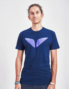 Men's Holographic Wings Crew Neck Tee