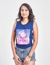 Load image into Gallery viewer, Women's Graphic Cube Muscle Tank